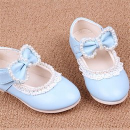 2015 Spring Princess Lace Beaded Girl Sandals Kids Leather Shoes, Fashion Children's Shoes Blue,Pink,Red