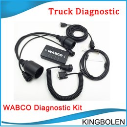 Wholesale WABCO DIAGNOSTIC KIT WDI WABCO Trailer and Truck Diagnostic Tool WDI Heavy Duty truck Testesr A Quality DHL
