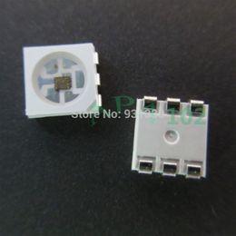 Wholesale-New 20PCS APA102C LED Chips APA102 Built in 5050 RGB LED Individual Addressable