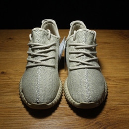 Wholesale Final Version Oxford Tan Boost Shoes On Sales Buy Kanye West Sneakers Shoes Called the Boosts Online Dropshipping With Box