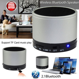 Universal Subwoofers Handfrees Speaker Mini Portable Bluetooth Wireless Speaker HiFi MIC TF Card Music Playerr For Iphone S10