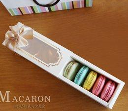 Wholesale Window Macaron boxe cake box gift box