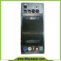 Wholesale Subwoofer Speaker Amplifier Board RMS W Class D Amplifier Plate Built in DSP module with Aluminum Radiator