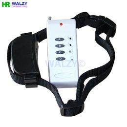 Wholesale New AB Level Remote Control Dog Pet Vibrate Vibration Whistle Training Collar without Static shock