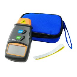 Wholesale Digital LCD Laser Photo Tachometer Non Contact RPM Meter Measuring Tool