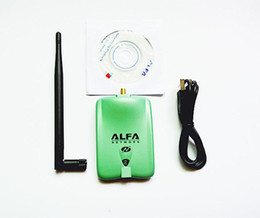 Wholesale New High Power ALFA AWUS036NH mw Wifi USB Adapter db Antenna Ralink3070 Chipset Dropshipping