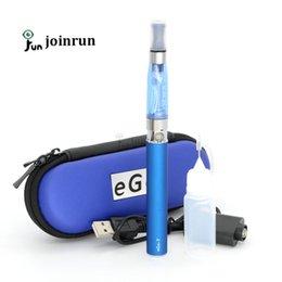 Promotion porter coloré EGo Ee4 E Kit de cigarettes avec étui de transport coloré Zipper EGo-T Kits de cigarette électronique 650mAh 900mAh 1100mAh bonne qualité