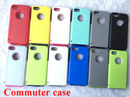 Wholesale 2in1 Combined Hybrid SiliCone Box Commuter Phone Case Cover For iPhone case iphone7 plus cases