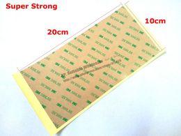 Wholesale x cm cm mils Die Cut Sticker Original M LSE Super Strong Heavy Duty Double Coated Clear Tape Material