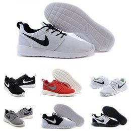 Wholesale 2016 Original Nike Roshe Run Running Shoes Men Women shoes Male Female Mesh Roshe Runs Athletic London Olympic Sport Sneakers