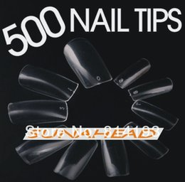 Wholesale False Nail Art Tips Special Hot Sale Fashion Bag Clear Color Nails tips Acrylic Tips Promotional discounts