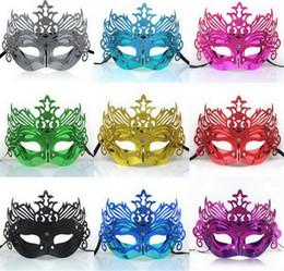 Wholesale vente chaude meilleurs prix masques mascarade vénitienne Parti Masque Props Halloween Masques Masque Femmes Sexy Demi Visage Halloween pour les femmes D370