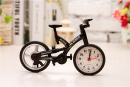 Wholesale NEW Hot sell Creative Bicycle Shape Alarm Clock Bike Timer Battery Operated gift