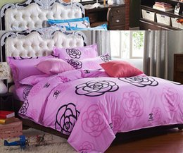 Wholesale 100 Cotton Bedding Set Bedding Sets For Feet Bed Full Queen King Size CPT052I Drop Shipping