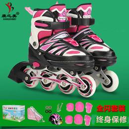 Descuento al por mayor de la ingeniería los zapatos del rodillo de Wholesale-Kid de 2015 nueva caliente Profesional Engineering Plastics rueda de goma llena patín en línea de alta calidad