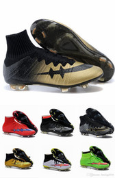 Wholesale 2015 Men s Mercurial Superfly FG CR7 Soccer Cleats Cheap Best Top Quality Firm Ground Soccer Shoes