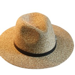 Wholesale-Summer Style Women Hat All-Match Wide Brim Foldable Bowler Dicer Vacation Drop Shipping ASAF