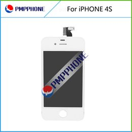 White Color Front Glass Touch Screen Digitizer & LCD Assembly Replacement For iPhone 4S & Tools & Free shipping
