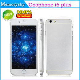 Wholesale Top Selling I6 Plus i6 Inch Dual Core MTK6572 OS Android Smart Phone GB RAM GB ROM HD screen G GPS Unlocked phone