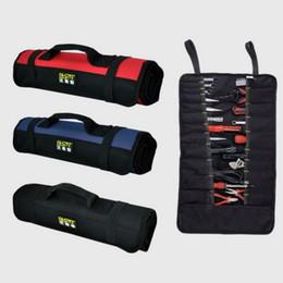 La bolsa de la herramienta del bolso de herramienta de balanceo del carrete del FASITE 21 bolsillos Organizador AZUL NEGRO ROJO La buena calidad libera el envío desde bolsas de bolsillos fabricantes