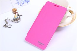 Hot Sell Luxury Flip PU Leather Case Mobile Phone Plastic Hard Back Cover For Lenovo A850+