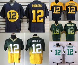 Wholesale NEW Aaron Rodgers Jersey Stitched Packers Jerseys discount Size M XXXL discount football jerseys Custom Limited Elite Game Embroidery