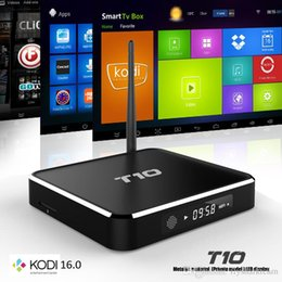 TV Box Amlogic T10 1G 8GB Android 4.4 S805 Quad Core Smart WIFI TV Box with HDMI Cable Remote Control Smart