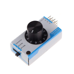 Wholesale Mini channel Servo Tester Servo Consistency Master Tester for RC Helicopter Airplane Car