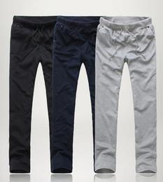 Wholesale New Men s Casual Sport Sweat Pants Training Baggy Jogging Long Trousers Colors M L XL XXL