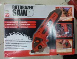Wholesale Classic Original W Rotorazer Electric Multi Function Mini Saw Tool Set Saw blade