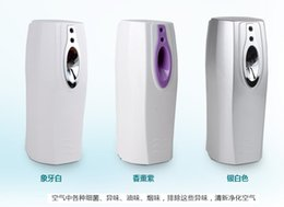Wholesale automatic air neutralizer timed fresh air toilet odor neutralizer sprayer air freshener dispenser phototonus perfume dispenser