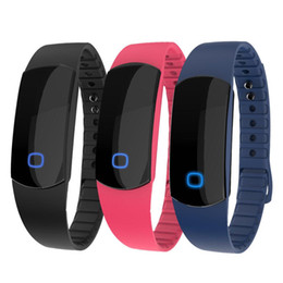 Wholesale US Stock SH08 Waterproof IP67 Smart Bracelets Bluetooth Smart Wrist Watch Sport Bracelet Support Android IOS For iPhone Samsung