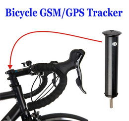 Wholesale Mini Bicycle GPS Tracker for real time tracking bike movement Shock Geo fence GSM SMS Alarm Standby Modes Google Maps