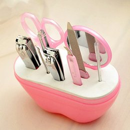 Wholesale Hot New nail set for Apple type nail clippers nail scissors beauty storing tools sets