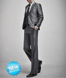 Trajes de la astilla en venta-FG1509 2015 nuevo Mens juegos de la manera de la astilla Trajes de boda Dos botones de los trajes de los hombres para hombre de la marca de fábrica con los pantalones (Jacket + Pants + tie)
