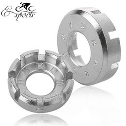 Free shipping! Cycling 6 Way Spoke Nipple Key Bike Wheel Rim Spanner Galvanized Wrench Bicycle Repair Tools