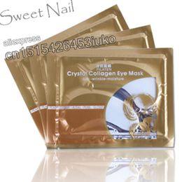 Wholesale-10 Pairs Crystal Collagen Eye Mask Sheet Pack Anti Anti-wrinkle Moisture, Whitening Dark Circle
