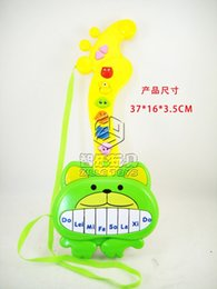 Playwright multifunction puzzle guitar with music light to support mixed batch