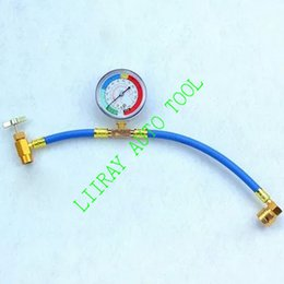 Wholesale Auto ac refrigerant R134A supplement Injector tools automotive air conditioning refrigerant freon gauges repair Tools M14