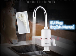 Wholesale Instantaneous Water Heater Instant Hot Water Faucet Instant Electric Faucet Water Heater Electric Tap for Kitchen and Bathroom A3