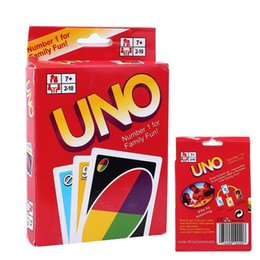 UNO Poker Card Family Fun Entermainment Board Game Standard Edition Kids Funny Puzzle Game Christmas Gifts