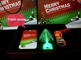 Wholesale Christmas Gift Set promotional gifts Santa Claus mobile power mobile power ultra thin polymer rechargeable Bao colorful Christmas tree