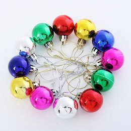 Wholesale High quality Large shiny Multi Color christmas Bell balls plastic tree Hanging item ornaments decorations Seasonal Deco ZZ