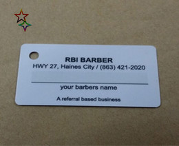 Best offer Manufacture custom pvc smart plastic key tag cards with keyhole