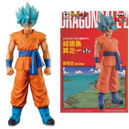 Wholesale 7 quot CM Dragon Ball Z Resurrection F MSP Super Saiyan Son Gokou Boxed PVC Action Figure Collectible Model Toy