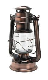 Éclairage de la rampe en Ligne-Gros-Maple plein essor en plein air feux Rétro portables kérosène lanterne du camp des feux de tente LED lanterne feu de mât