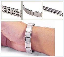 Wholesale Sell Beads Wholesale - hot selling New arrival 20pcs Energy bracelet Titanium, Nano Energy Magnetic Germanium Titanium Bracelet Pain Relief Powerfull!