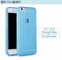 Wholesale Mobile Phone Cases For Iphone6 Plus Slim Shell Pattern Plant G TPU Phone Case