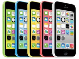 "Original Apple iPhone 5C Refurbished Unlocked phone 8GB 16GB 32GB dual core 8MP Camera 4.0"" US EU Version"