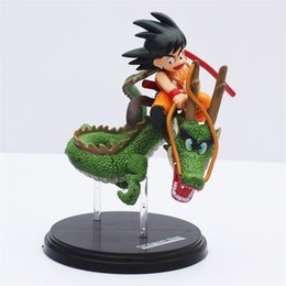 Dragon Ball Z Gokou Shenron set action figure toy collection Dolls fantastic arts Free Shipping